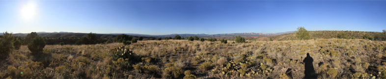 360° x 80° - Viewpoint between Jerome and Perkinsville